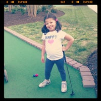 Photo taken at Miniature Golf @ Wyndham Kingsgate by Porfirio R. on 4/12/2012