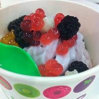 Photo taken at Yobe Frozen Yogurt by Sandra H. on 6/16/2012