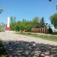 Photo taken at Парк Победы by Sergey P. on 5/4/2012