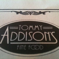 Photo taken at Tommy Addison's Fine Food by David F. on 4/3/2012