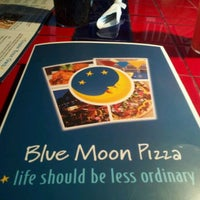 Photo taken at Blue Moon Pizza by Lori H. on 1/7/2012