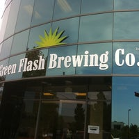 Photo taken at Green Flash Brewing Company by Michael F. on 8/26/2011