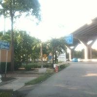 Photo taken at Bang Na Toll Plaza by Saran Y. on 7/15/2012