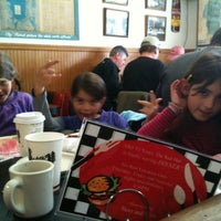 Photo taken at Red Hut Waffle Shop by Christelle C. on 4/16/2011