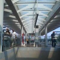 Photo taken at NoMa-Gallaudet U Metro Station by CaShawn T. on 9/8/2012