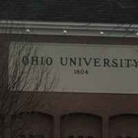 Photo taken at Ohio University by Emily R. on 3/6/2012
