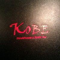 Photo taken at Kobe Japanese Steakhouse and Sushi Bar by F Dubya on 1/29/2012
