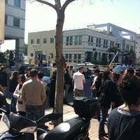 Photo taken at 5 דקות ברחוב למען גלעד שליט by Orly W. on 3/15/2011