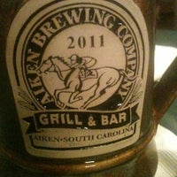 Photo taken at Aiken Brewing Company by Lara G. on 2/9/2011