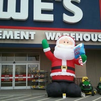 Photo taken at Lowe's Home Improvement by Matt C. on 11/8/2011
