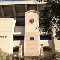 Photo taken at Kyle Field Zone Plaza by Rich H. on 9/7/2012
