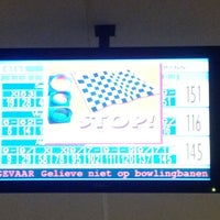 Photo taken at Bowlingpaleis by Witje on 7/29/2012