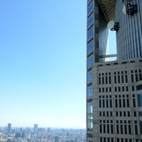 Photo taken at North Observatory, Tokyo Metropolitan Government Building by cyberkiz on 3/13/2012