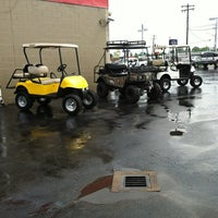 Photo taken at Golf Car City by Olivia A. on 7/28/2012