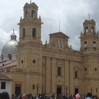 Photo taken at Basílica Nuestra Señora de Chiquinquirá by Rodolfo D. on 4/5/2012