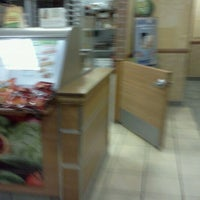 Photo taken at Subway by Erin E. on 2/12/2012