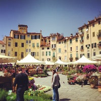 Photo taken at Piazza dell'Anfiteatro by Luca D. on 4/27/2012