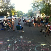 Photo taken at National Night Out Healy Block by Adam S. on 8/8/2012