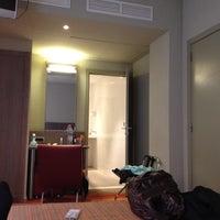 Photo taken at Hotel Alma by Yae K. on 8/25/2012