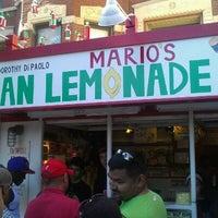 Photo taken at Mario's Italian Lemonade by T. Sweet on 7/8/2012