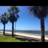 Photo taken at Avenida da Praia by Robson B. on 8/13/2012