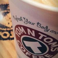 2/8/2012 tarihinde MRCOOL. ..ziyaretçi tarafından TOM N TOMS COFFEE'de çekilen fotoğraf