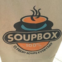 Photo taken at Soupbox by Aaron J. on 5/17/2012