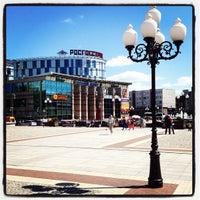 Снимок сделан в Площадь Победы пользователем Grega B. 5/26/2012