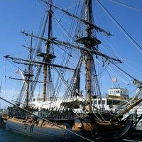 Das Foto wurde bei Maritime Museum of San Diego von Paula am 3/12/2012 aufgenommen