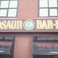 Photo taken at Dinosaur Bar-B-Que by Seth C. B. on 9/29/2011