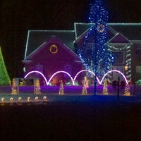 Photo taken at Our Dancing Lights by Christine G. on 12/10/2011