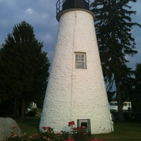 Photo taken at Concord Point and Lighthouse by Lisa S. on 7/10/2012