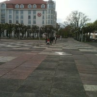 Photo taken at Sheraton Sopot Hotel, Conference Center & Spa by Anna Ż. on 5/4/2012