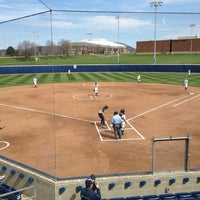 Photo taken at Nittany Lion Softball Park by Stephanie on 4/3/2012