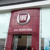 Photo taken at Via Marconi - Fiat by Marcello G. on 3/17/2012