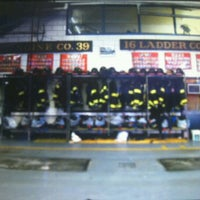 Photo taken at FDNY Engine 39/Ladder 16 by Kate T. on 10/31/2011