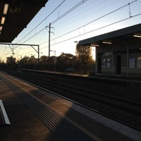 Photo taken at Macquarie Fields Station by Daniel M. on 9/4/2012