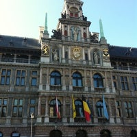 Photo taken at Antwerp City Hall by Adalace J. on 10/16/2011