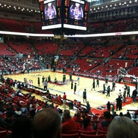 Photo taken at TTU - United Supermarkets Arena by Vicki T. on 1/19/2012