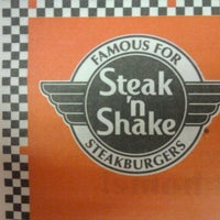 Photo taken at Steak 'n Shake by Rebecca L. on 2/20/2011