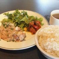 Photo taken at カフェダイニング・クロノ by Yoshiyuki K. on 5/11/2012