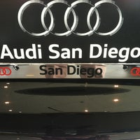 Photo taken at Audi San Diego by Scott L. on 4/27/2012