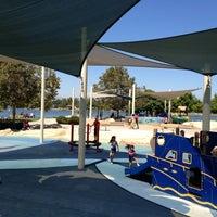 Photo taken at Lake Balboa Park by Sean N. on 6/30/2012