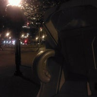 Photo taken at Dag Plaza Statues by Steven B. on 4/11/2012