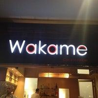Photo taken at Wakame by Juan david C. on 3/23/2012