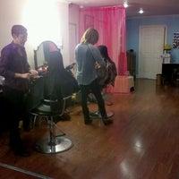 Photo taken at Salon Blush by Alanna R. on 1/14/2012