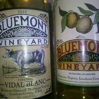 Photo taken at Bluemont Vineyard by Michael K. on 10/9/2011