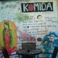 Photo taken at Komida by Mikey K. on 3/21/2012