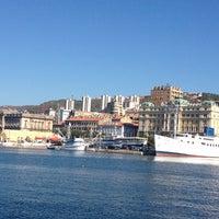 Photo taken at Rijeka Harbour by Вера Ч. on 9/9/2012