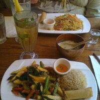 Photo taken at Wild Ginger Pan-Asian Vegan Cafe by Barb M. on 6/21/2012